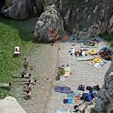 Apartmány Vrbnik 12944, Vrbnik - Nejbližší pláž