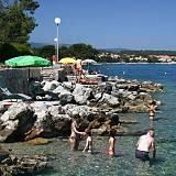 Ferienwohnungen Malinska 13722, Malinska - Nächster Strand