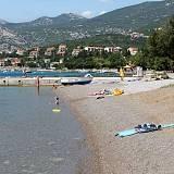 Apartmány a pokoje Klenovica 5431, Klenovica - Nejbližší pláž
