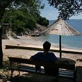 Apartmány Pinezići 5330, Pinezići - Nejbližší pláž