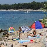 Apartmány Punat 17365, Punat - Nejbližší pláž
