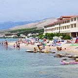 Ferienwohnungen Pag 9517, Pag - Nächster Strand
