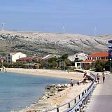 Apartments Pag 12445, Pag - Nearest beach