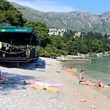 Apartamentos y habitaciones Srebreno 3392, Srebreno - Playa más cercana