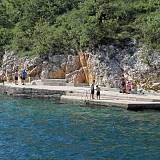 Ferienwohnungen Jadranovo 5385, Jadranovo - Nächster Strand