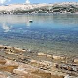 Ferienwohnungen Pag 6955, Pag - Nächster Strand