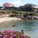 Apartmány Mandre 6952, Pag - Nejbližší pláž